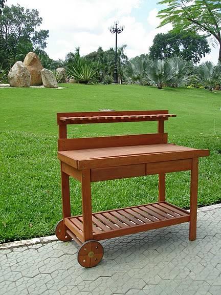 Eucalyptus Potting Bench V109