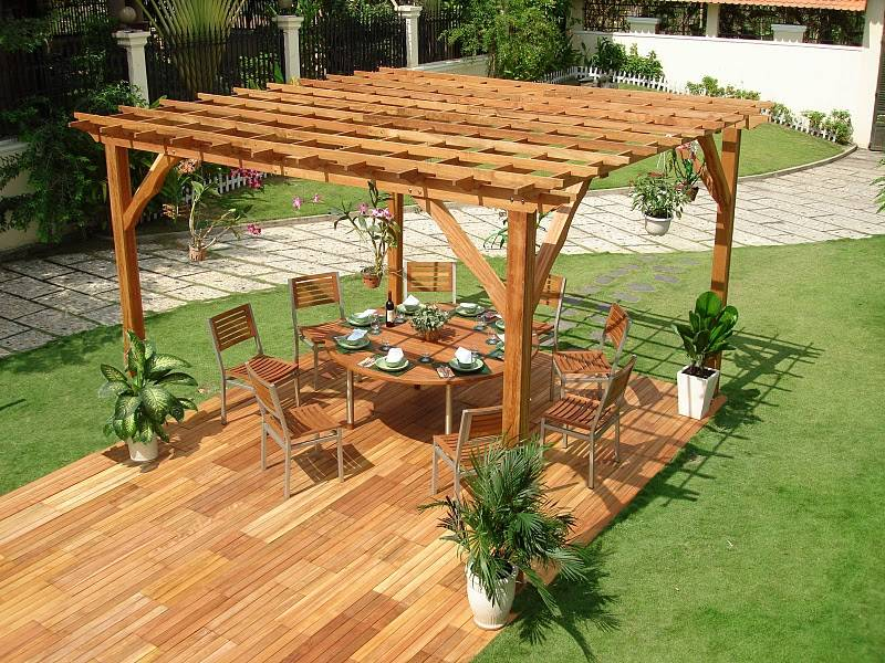 Do It Yourself Coliseum I Pergola - V140