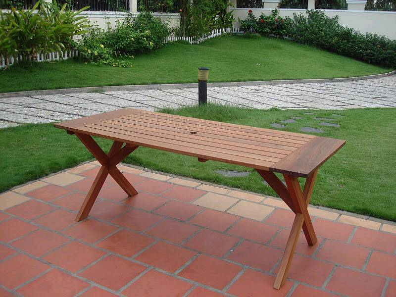 Omaha outdoor rectangle table v184 for Outdoor furniture omaha