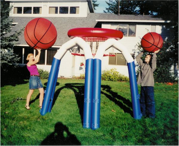 Monster Basketball Game
