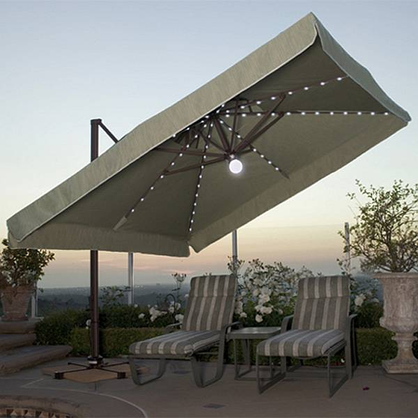 Offset Umbrellas Amp Offset Patio Umbrella