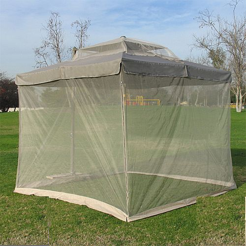 Frikon Mosquito Net Cover Pop Up 10x10 Umbrella Shade