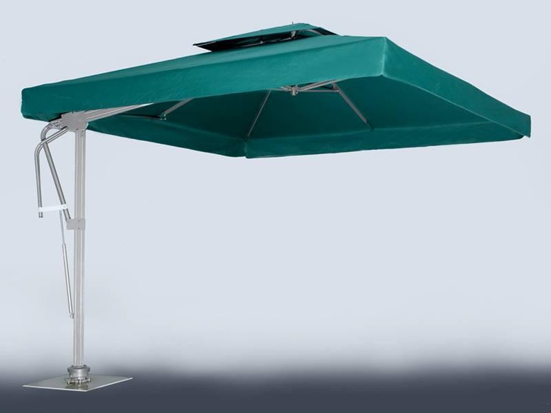 Torino Side Post Umbrella 8ft X 8ft Ut230s