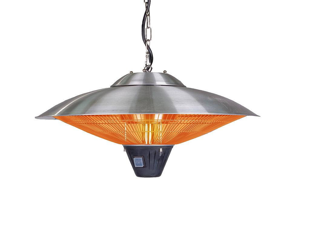 Hanging Stainless Steel Halogen Patio Heater Click To Enlarge
