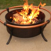Warm and Inviting Fire Pit