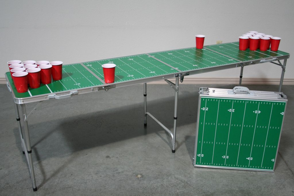 Folding Tailgating Game Table (Click To Enlarge)