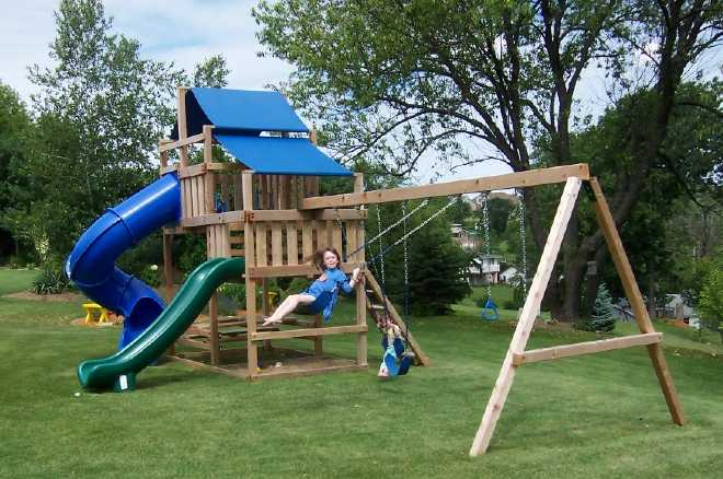 Backyard Playset Blueprints
