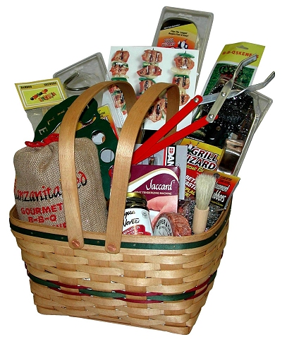 gift baskets that sizzle - outdoor patio ideas - Patio Gift Ideas