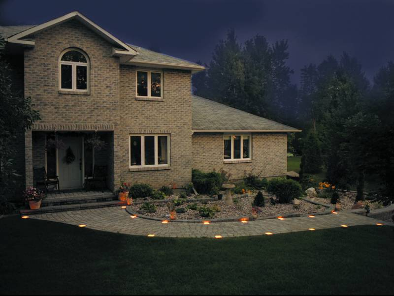 low voltage interior lighting kits%0A Path Lights Offer Safe Passage Outdoor Patio Ideas