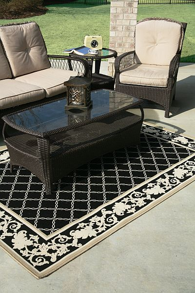Smart Solution Outdoor Rugs For Cleaner Kitchens And Dining Areas Patio Ideas