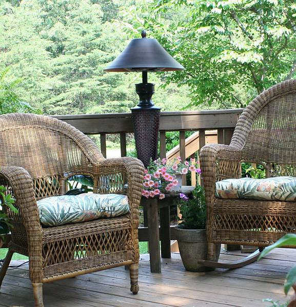 decorative patio heaters - Patio Heating Ideas