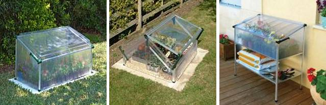 Mini Greenhouse Kits Give You Gardening In Es Outdoor Patio Ideas